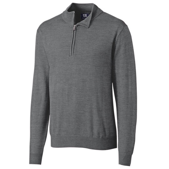 Cutter Buck Sweaters Cutter Buck Sweater With Zip Size Xl Poshmark
